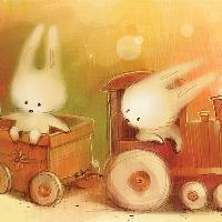变勤快了的小兔子