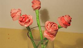 """学做""""环保玫瑰"""",让家更有爱"""