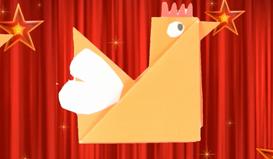 2017年鸡年 手工折纸小鸡DIY教程
