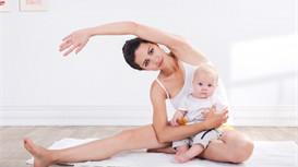 丁梵老师教你3招亲子瑜伽体式,让妈宝更亲密!