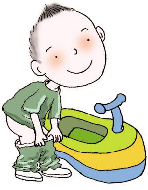 幼儿园小班入厕步骤图