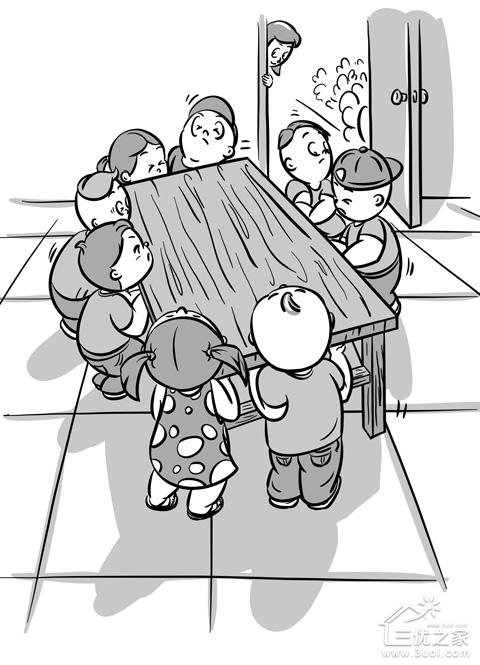 幼儿园孩子提裤子步骤图简笔画
