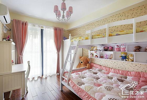 今天小编就向各位潮爸辣妈们推荐以下3款粉色公主房,让整个