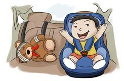 贝欧科告诉您儿童安全座椅是如何保护宝宝的