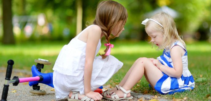 孩子腿上有疤痕要怎么才能去掉?