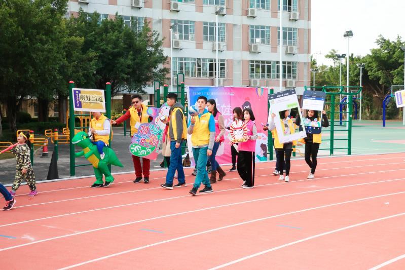 萌娃当道走进汇景新城国际幼儿园,新颖形式获好评连连