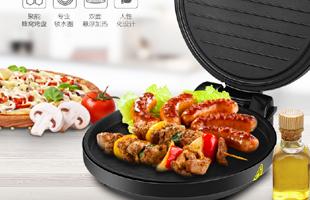 美的(Midea)电饼铛 双面加热煎烤机 多功能家用JHN30F