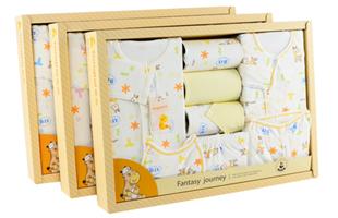 童泰 TONGTAI 新生儿婴儿四季礼盒9件套