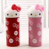 Hello Kitty不锈钢创意保温杯 两色可选(粉红、深红)