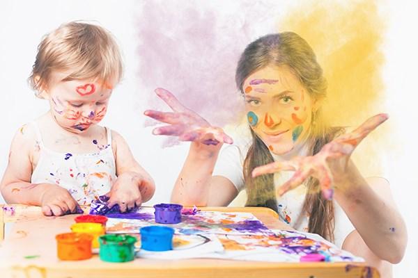 家有乱涂画的孩子要怎么办?