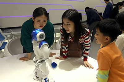 邂逅智能机器人