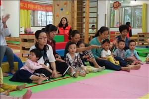 2018年,洪桥街阳光宝贝科学育儿项目公益免费早教班