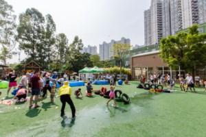 汇景园区亲子活动回顾:亲水派对感受清凉一夏,不玩水不夏天!