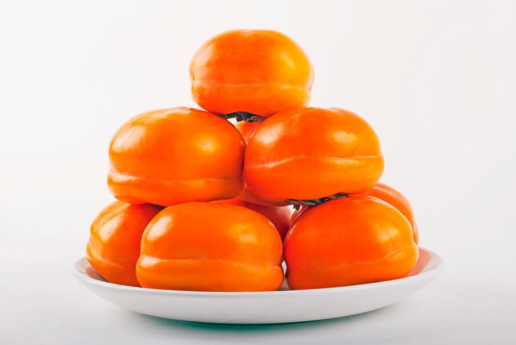 柿子简笔画颜色
